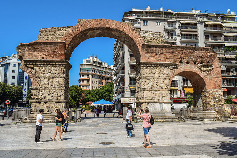 Arch of Galerius Thessaloniki