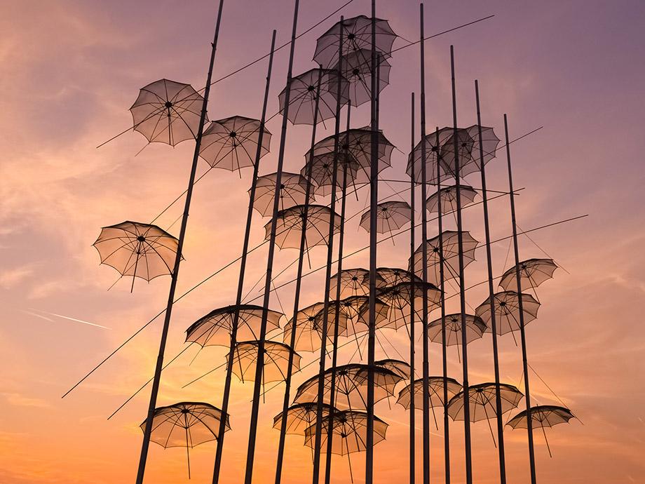Thessaloniki Umbrellas