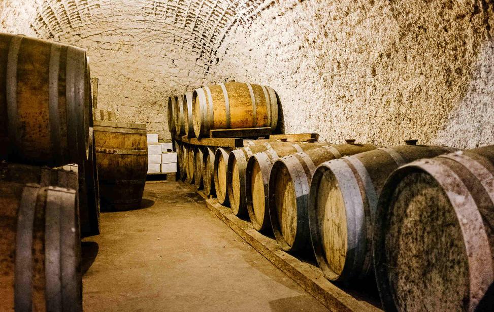 Santorini Wine Tasting tour - cave winery