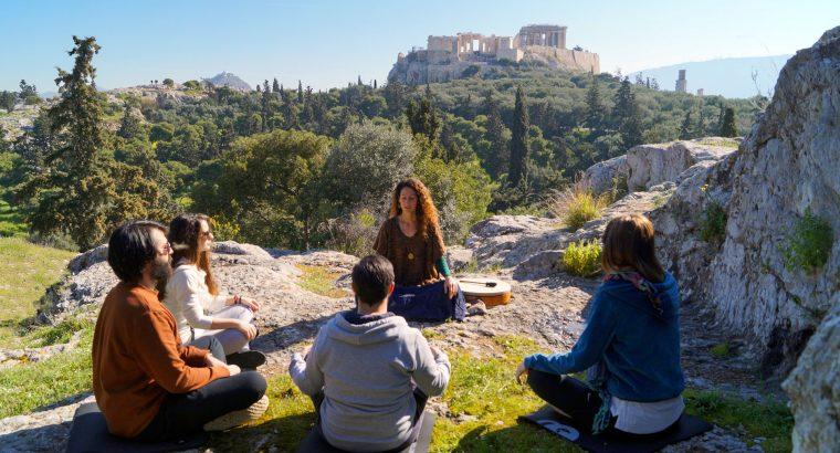 Ancient Greek Meditation and Vegan Brunch